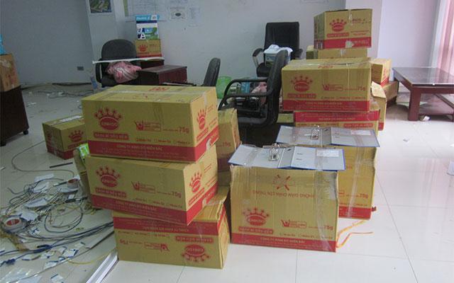 Đánh dấu thùng hồ sơ