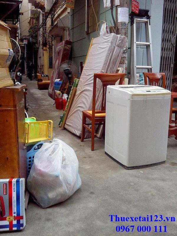Phòng trọ có nhiều đồ đạc nặng