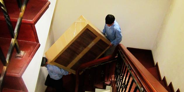 Vận chuyển đồ đạc cẩn thận