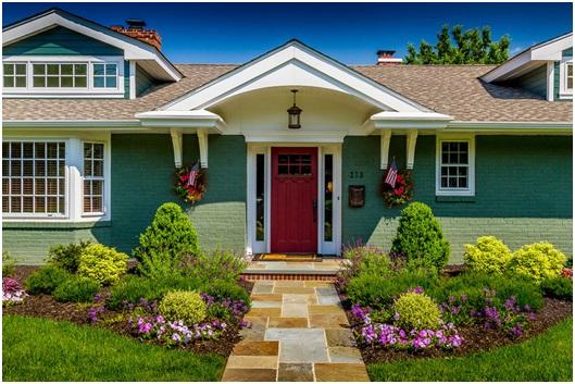 Ngôi nhà đẹp hợp phong thủy