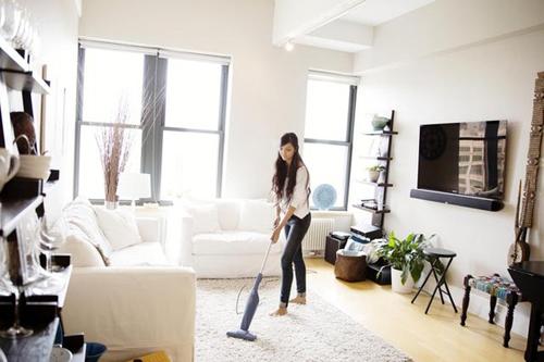 Dọn dẹp nhà cửa sạch sẽ