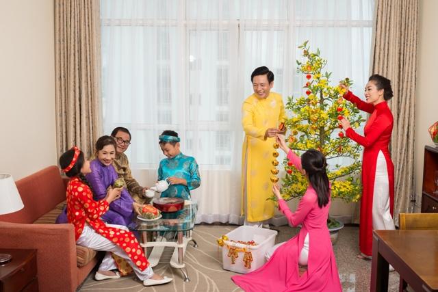 Đón Tết đầm ấm cùng gia đình và người thân