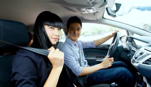 Sử dụng dây an toàn khi lái xe