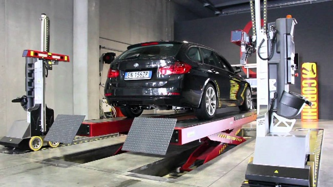 Máy móc sửa chữa ô tô