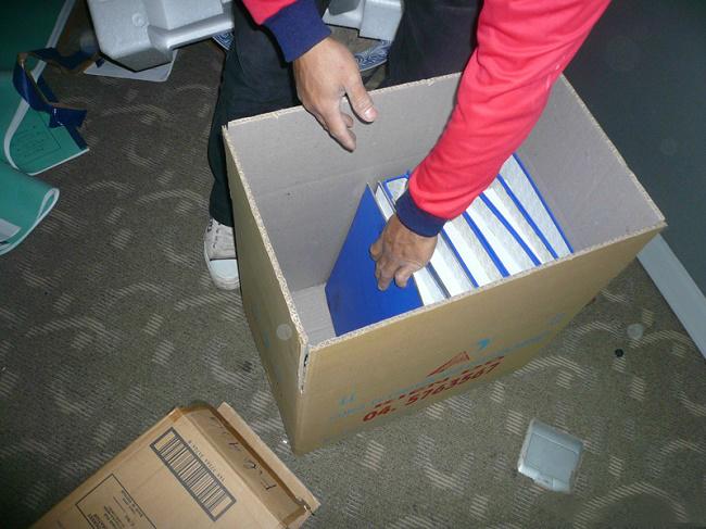 Đóng gói hồ sơ văn phòng