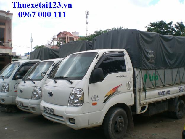 Hệ thống taxi tải đa dạng về trọng tải