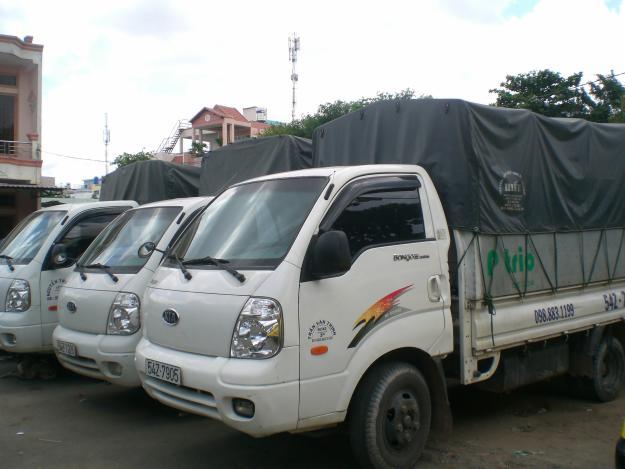 Đội ngũ taxi tải Thần Đèn