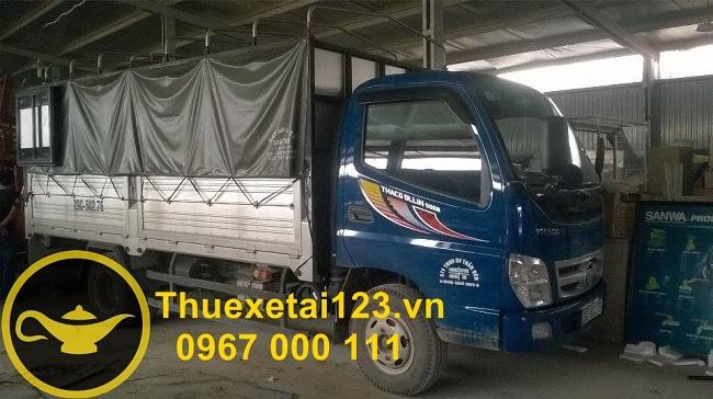 Chọn taxi tải phù hợp lượng đồ cần chuyển