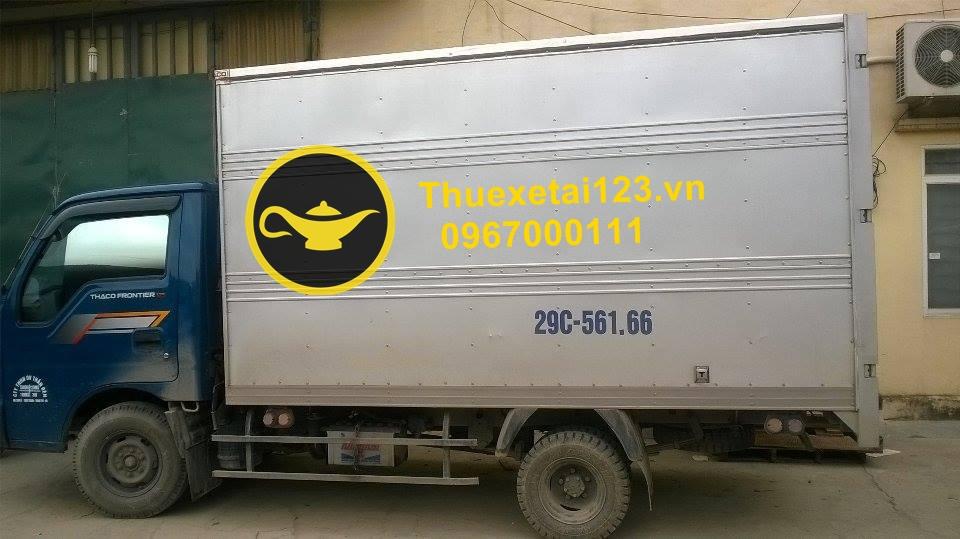 Chuyển nhà bằng taxi tải