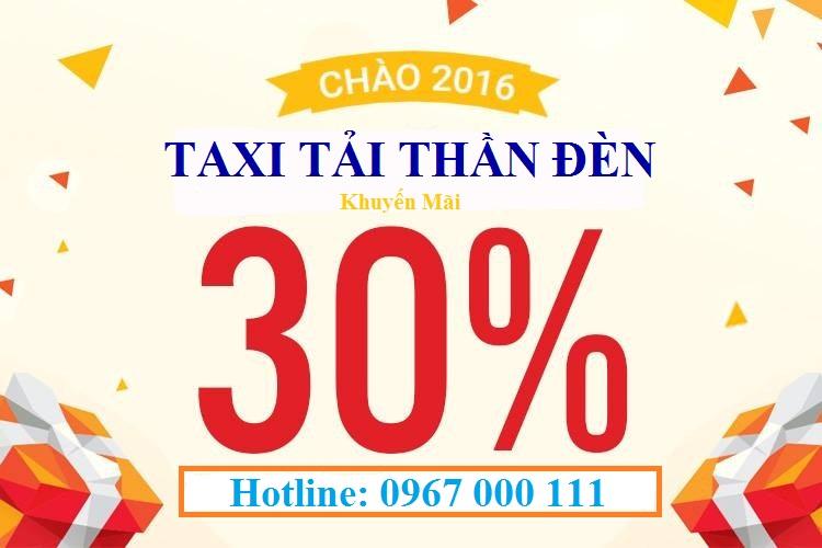 Taxi tải Thần Đèn khuyến mãi lớn
