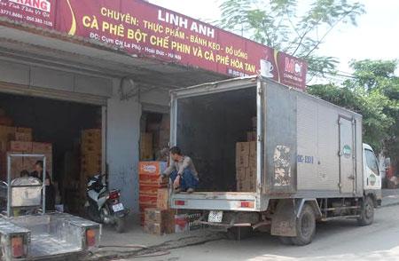 Taxi tải Thần Đèn chở hàng hóa tết  2016