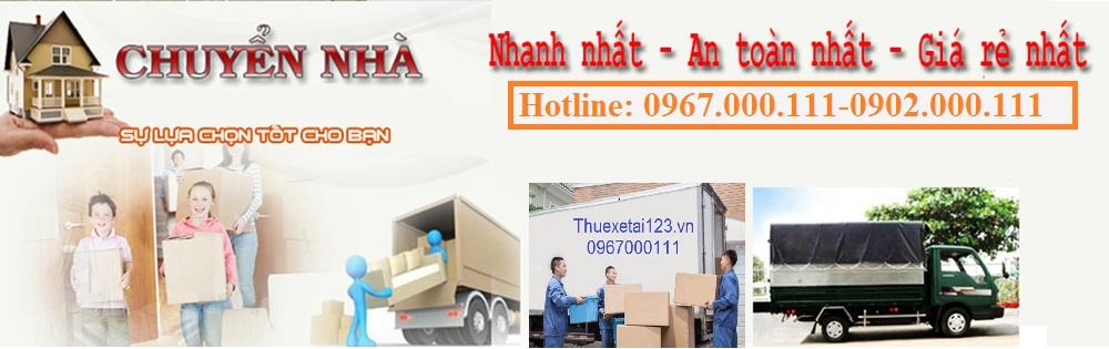 Dịch vụ chuyển nhà trọn gói chất lượng số 1 tại Hà Nội