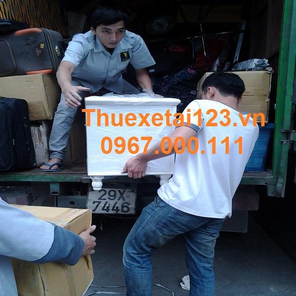 Taxi tải chuyển nhà mang đến lợi ích cho khách hàng