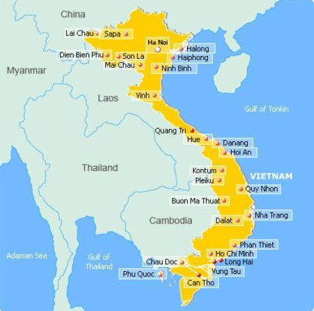 Tra cứu khoảng cách km từ Hà Nội đi các tỉnh