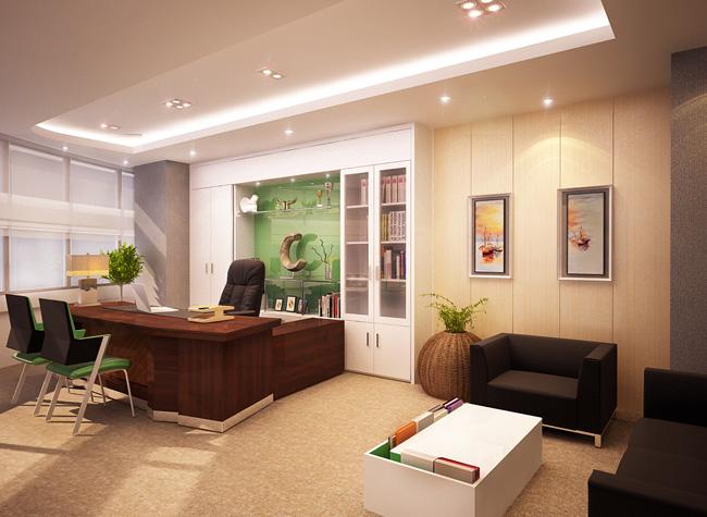 Thiết kế văn phòng mang tiền tài trong năm mới