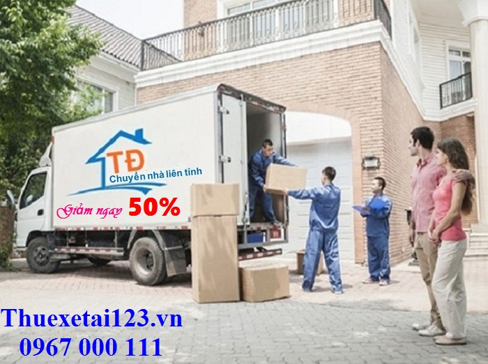 Giảm ngay 50% chuyển nhà liên tỉnh về Hà Nội