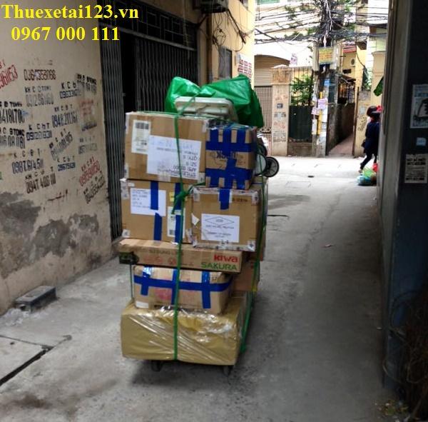 Giải pháp cho việc chuyển nhà trong ngõ hẻm nhỏ